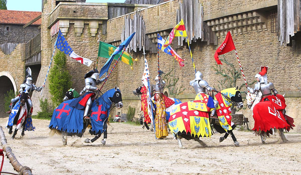 Le Puy du Fou in Vendée near the campsite